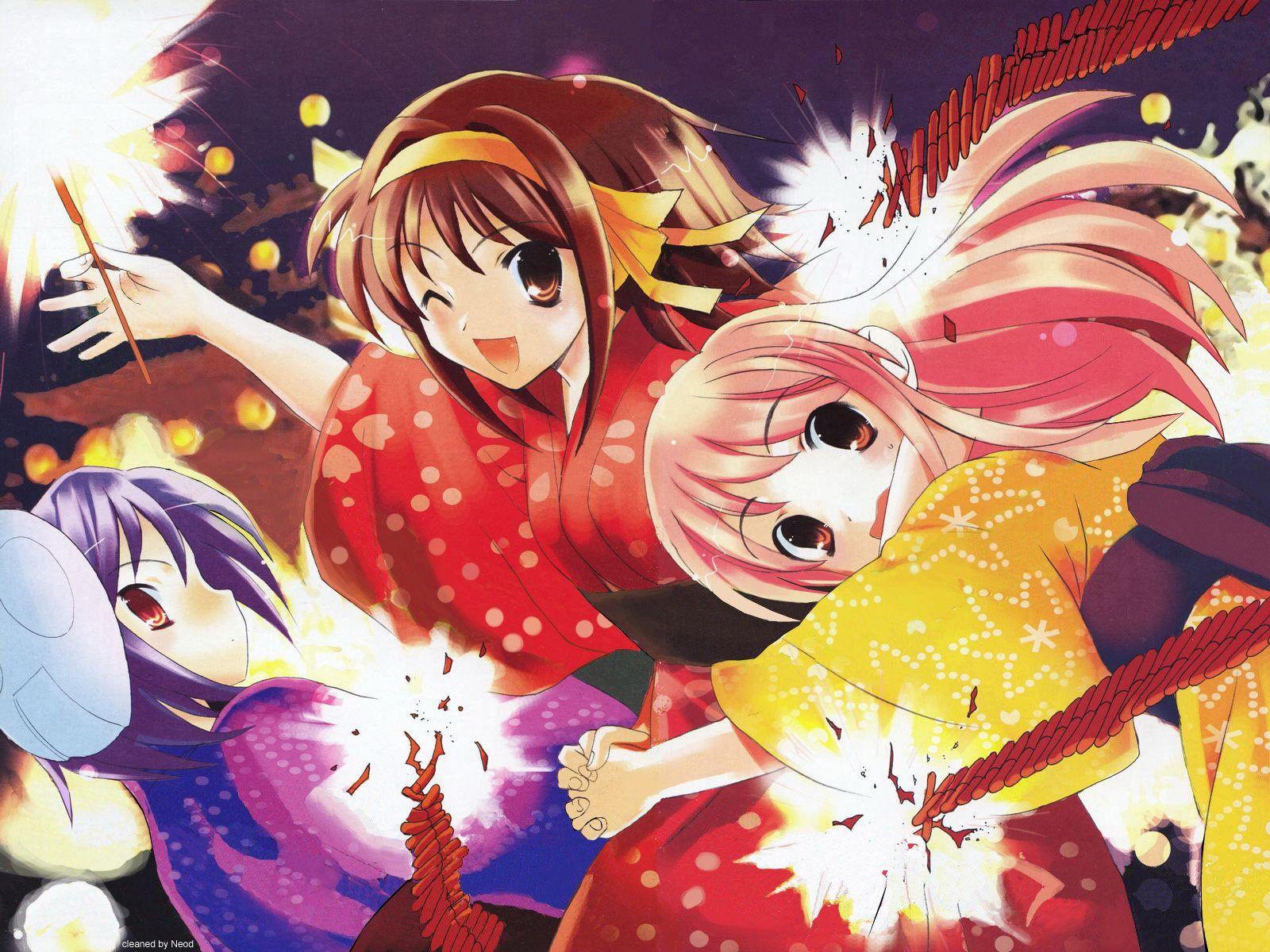 《凉宫春日的忧郁》 桌面壁纸(6124) 凉宫春日壁纸 动漫大风堂 Anime, Anime