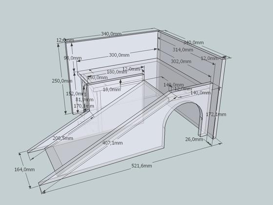 neuschweinstein das haus mit den rampen bauanleitung zum selber bauen selber machen. Black Bedroom Furniture Sets. Home Design Ideas
