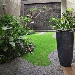 model taman belakang rumah minimalis lahan sempit | taman