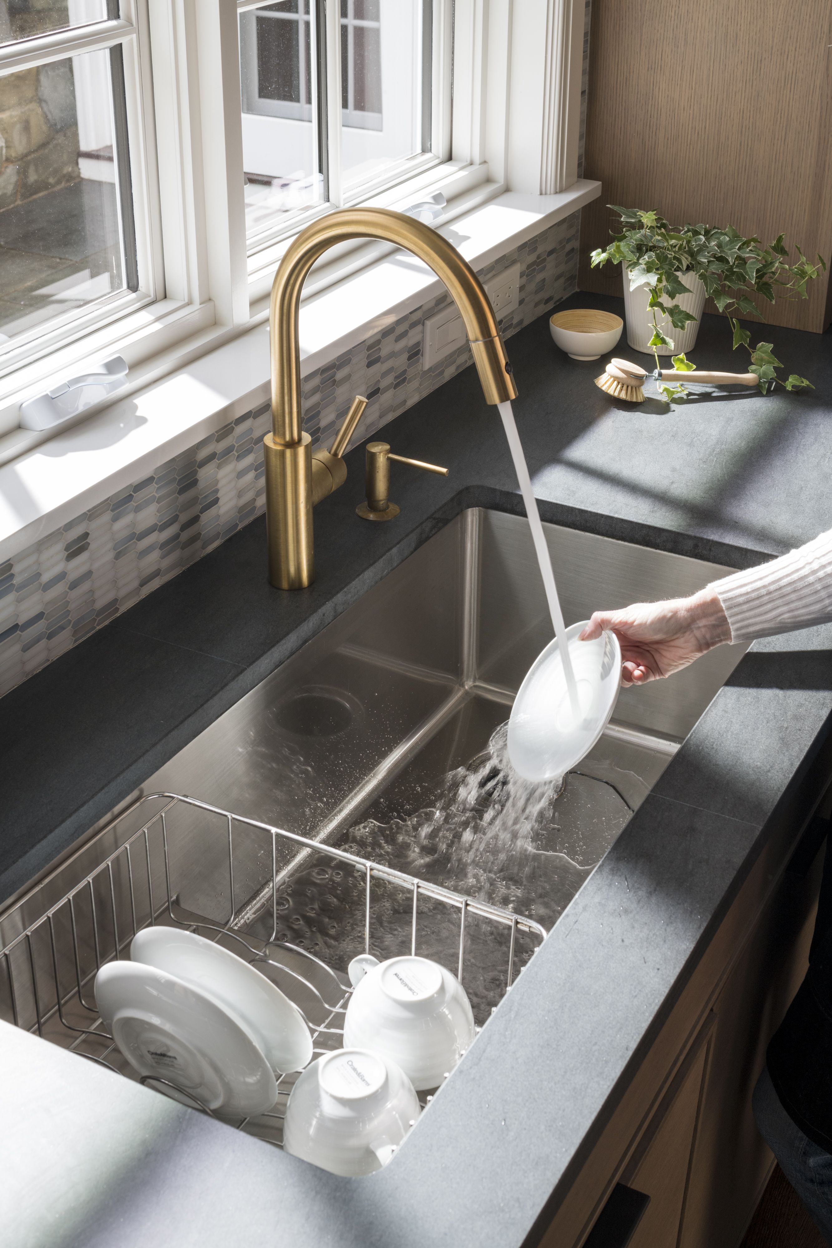 steppe sink by studio dearborn with the