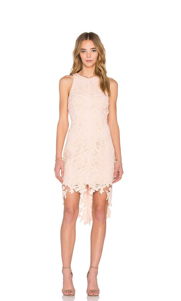 Cowgrils Champagne Lace Dress