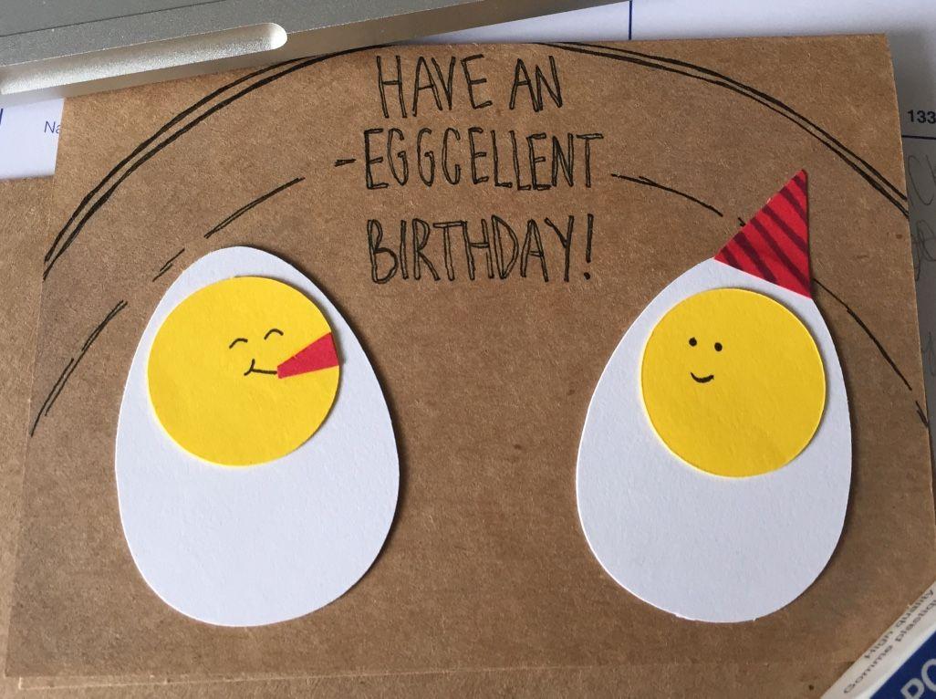 Have An Eggcellent Birthday Egg Lover Birthday Card Birthday Cards Birthday Quotes Birthday