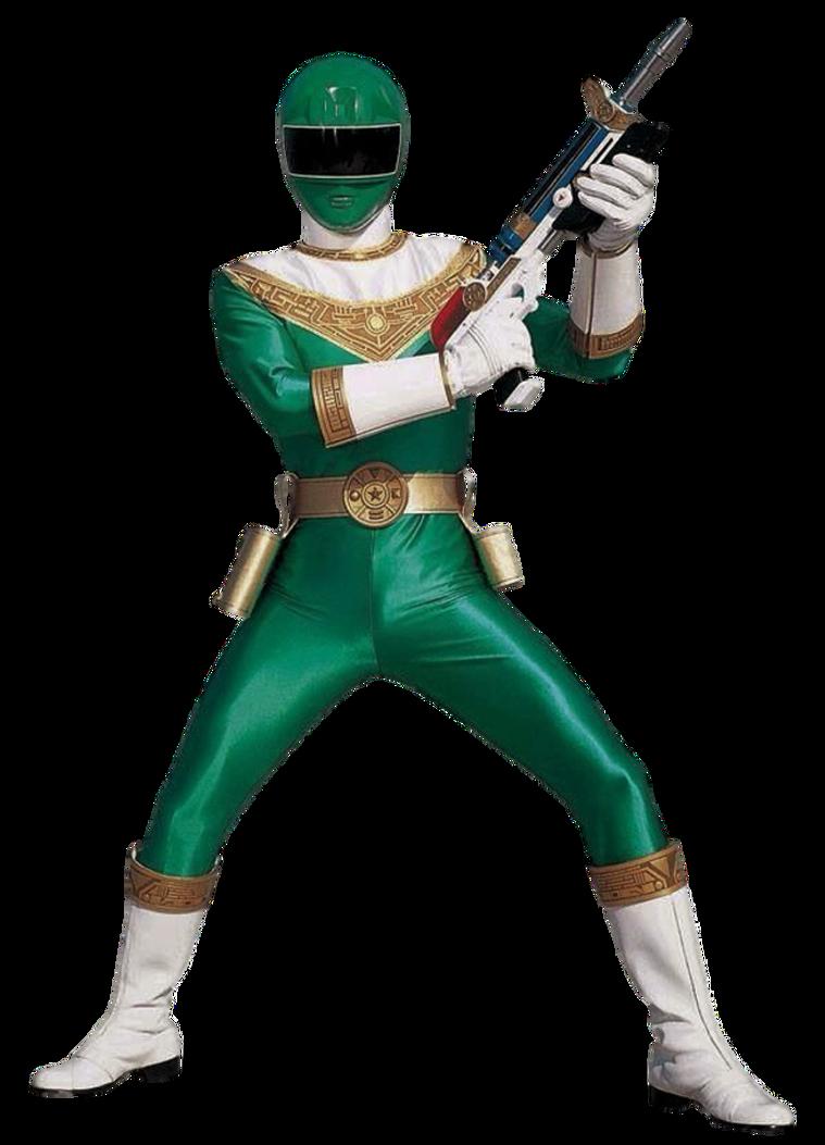 Zeo Green Ranger Transparent By Camo Flauge Green Ranger Power Rangers Power Rangers Spd Morpher