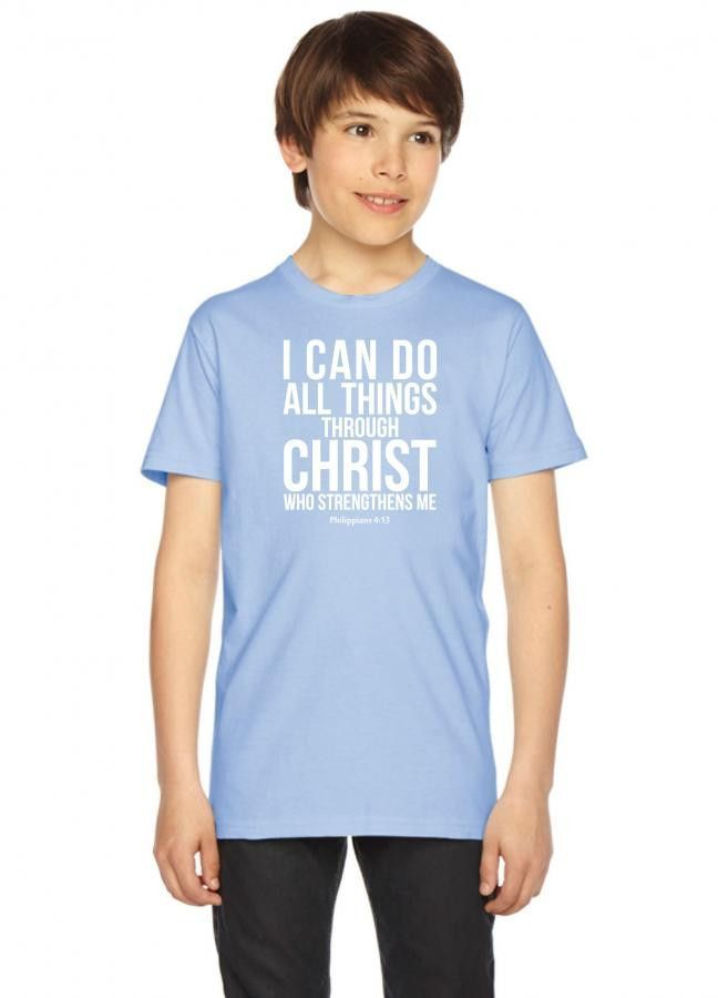 i can do all things through christ 1 (2) Youth Tees