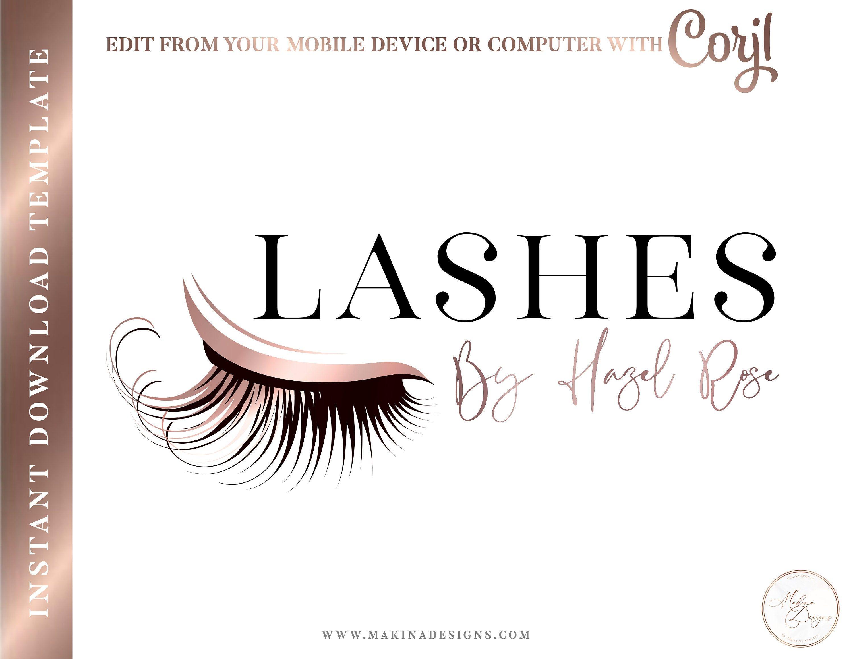 Eyelash logo design eyelashes logo logo design logo