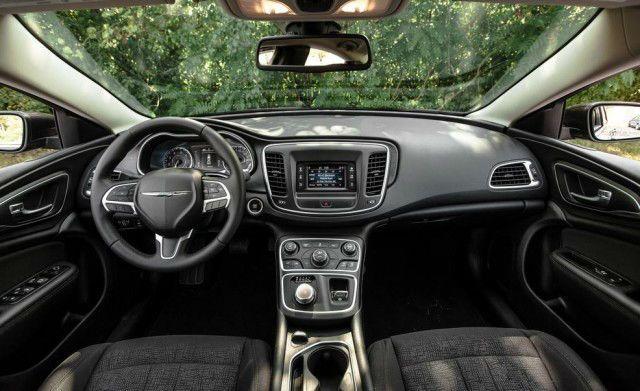 2017 Chrysler 200 Interior Com Imagens