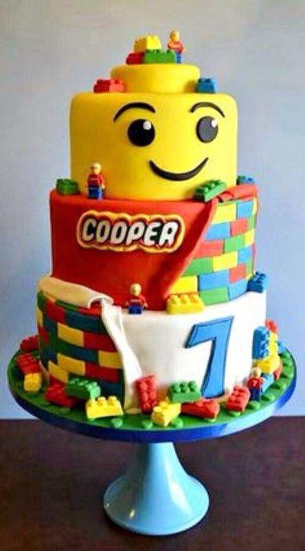 Lego Tier Kids Birthday Cake
