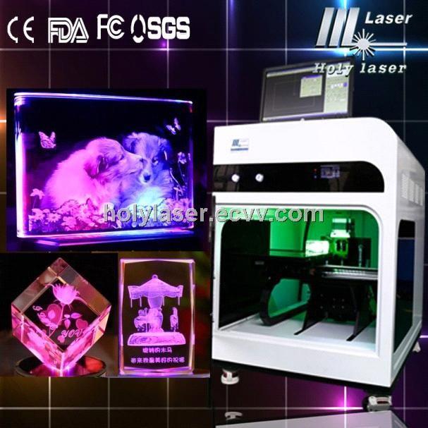 3d Crystal Gift Laser Inside Engraving Machine Hsgp 2kc