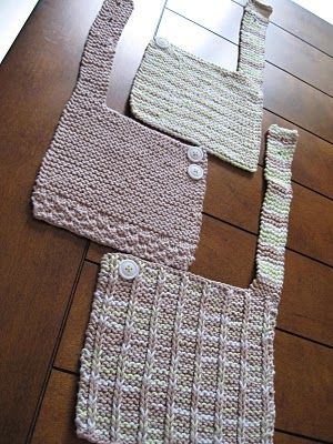 Knitting Like Crazy Some Baby Bibs Crafty Pinterest Bibs