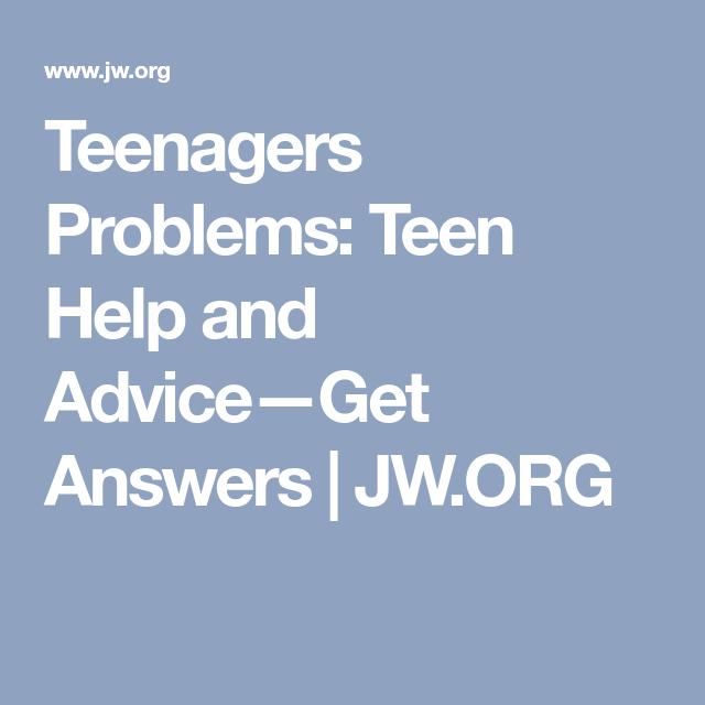 Org this teen help — 12