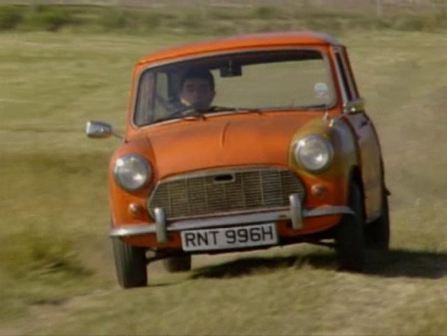 Mr Bean 39 S First Mini Cooper Cars Pinterest Mini Coopers Beans And Minis