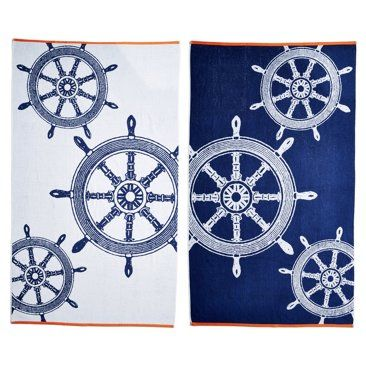 Check Out This Item At One Kings Lane Ship Wheels Beach Towel