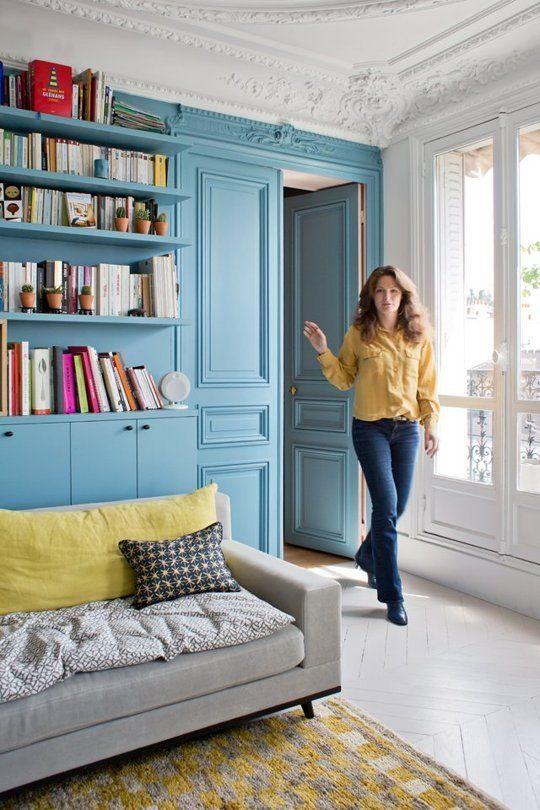 A Dreamy Paris Apartment Where Color Is King Paris Apartment Decor Trendy Living Rooms Paris Apartments