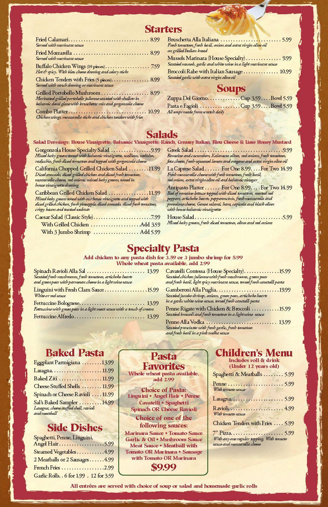 Free Blank Restaurant Menu Templates