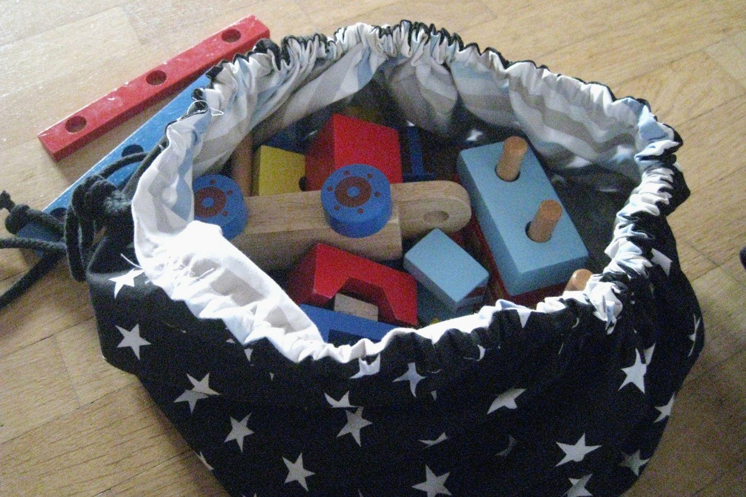 Photo of Spielzeugsack selber nähen