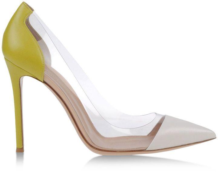 Sandales à talons hauts Gianvito Rossi en Cuir blanc