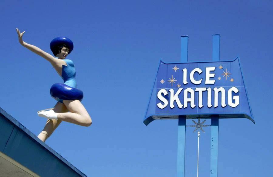 Culver city ice rink ice skating vintage ice skating