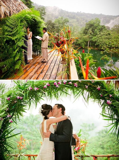 Costa Rica Rain Forest Destination Wedding Photos By Southern California Photographers Beautiful Day Photography