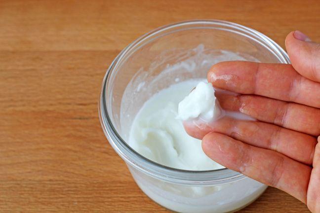 DIY Deodorant 1/4 cup coconut oil 2 Tablespoons corn starch* 1 Tablespoon + 1  teaspoon baking soda* 20 - 25 drops lavender essential oil Melt your  coconut ...