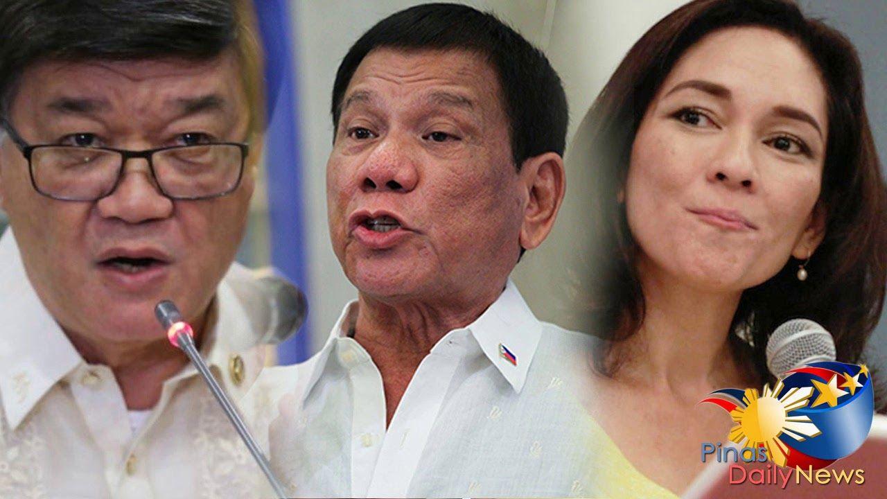 Duterte Defend Justice Secretary Aguirre Over Hontiveros Text Message Gaffe Pilipinas News Text Messages Link Messages