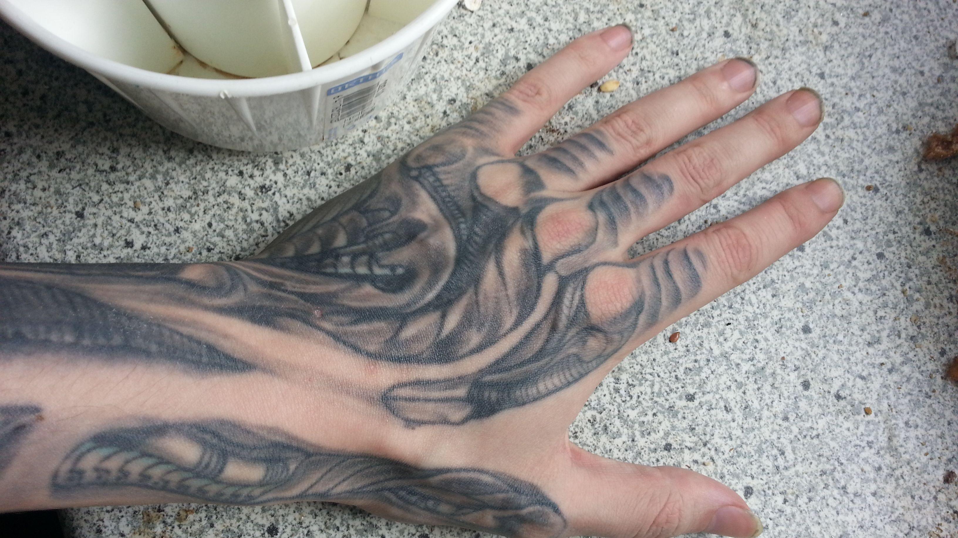 Hr giger tattoo designs - Tattoo My H R Giger