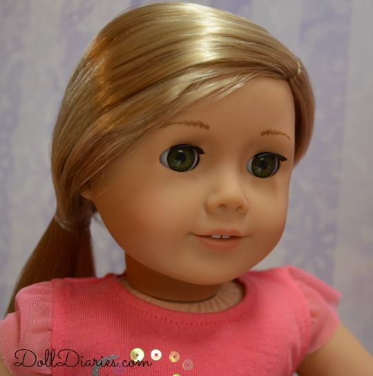 More Photos of Isabelle.Close up pic of Izzy! On www.dolldiaries.com