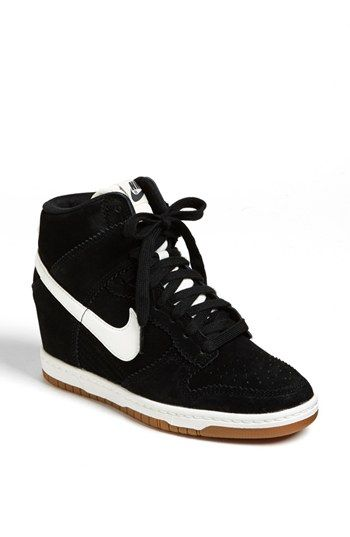 newest a990c 1fadd Nike  Dunk Sky Hi  Wedge Sneaker (Women) available at  Nordstrom