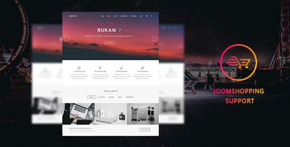 Rukan7 - JoomShopping Multipurpose Template - Joomla CMS Themes