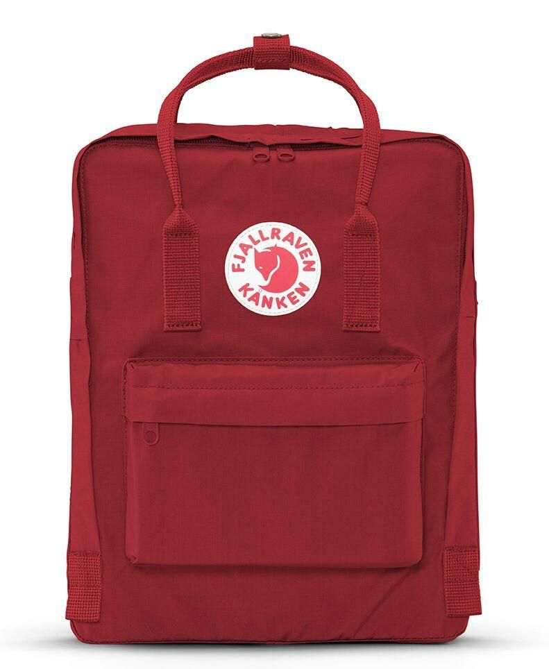 Fjallraven Kanken Backpack Mini Deep Red Kanken Backpack Kanken Fjallraven Kanken