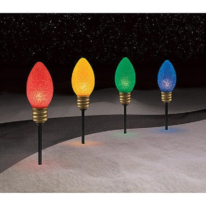 Christmas Pathway Lights.Christmas Outdoor Yard Lighted Pathway Lighting Decorations