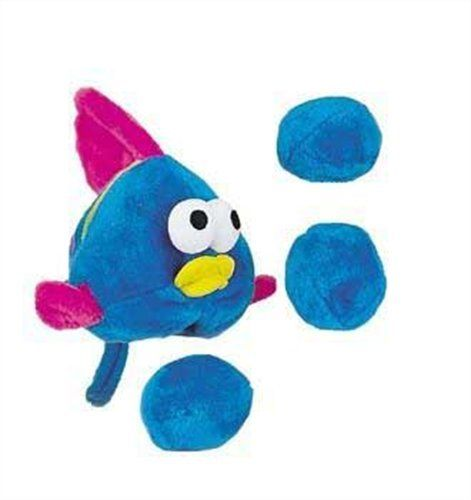 Outward Hound Kyjen Pp01271 Egg Babies Fish Plush Dog Toys Squeak Toy Dog Puzzle Large Blue Click On The Image For Additional Details