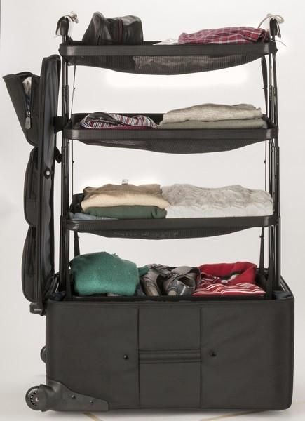 Shelfpack Portable Closet Suitcase