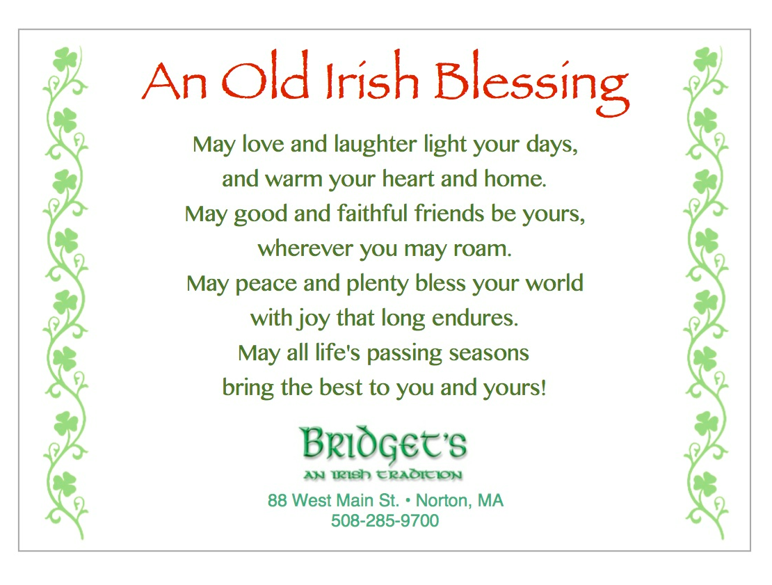 Merry Christmas and Happy New Year from Bridget\'s An Irish Tradition ...