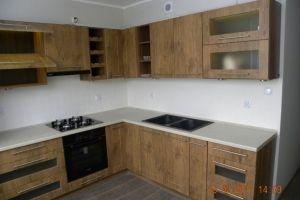 walnut kitchen cabinets | Piotr Lassa