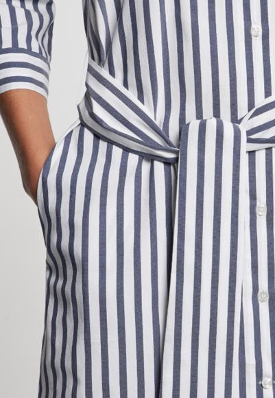 Damen Popeline Midi Kleid Aus Baumwollmischung Hellblau 60 127512 0012 Seidensticker Damen Kleider Baumwolle