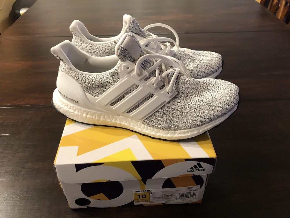 221828056d9d9 Adidas Ultra Boost Style  F36155 Non Dyed   Footwear White-Grey Size 10 US