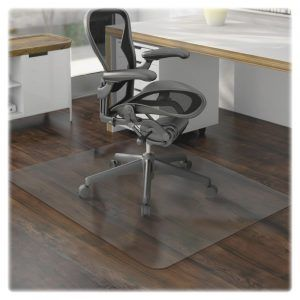 EconoMat® 36 X 48 W/lip Hard Floor (Chair Mats). Product Description:  EconoMat® 36 X 48 Mat 20 X 12 Lip Color: Clear Floor Type: Hard Floor  Features: ...