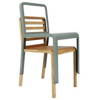I just love the concept of this chair! A two in one model.