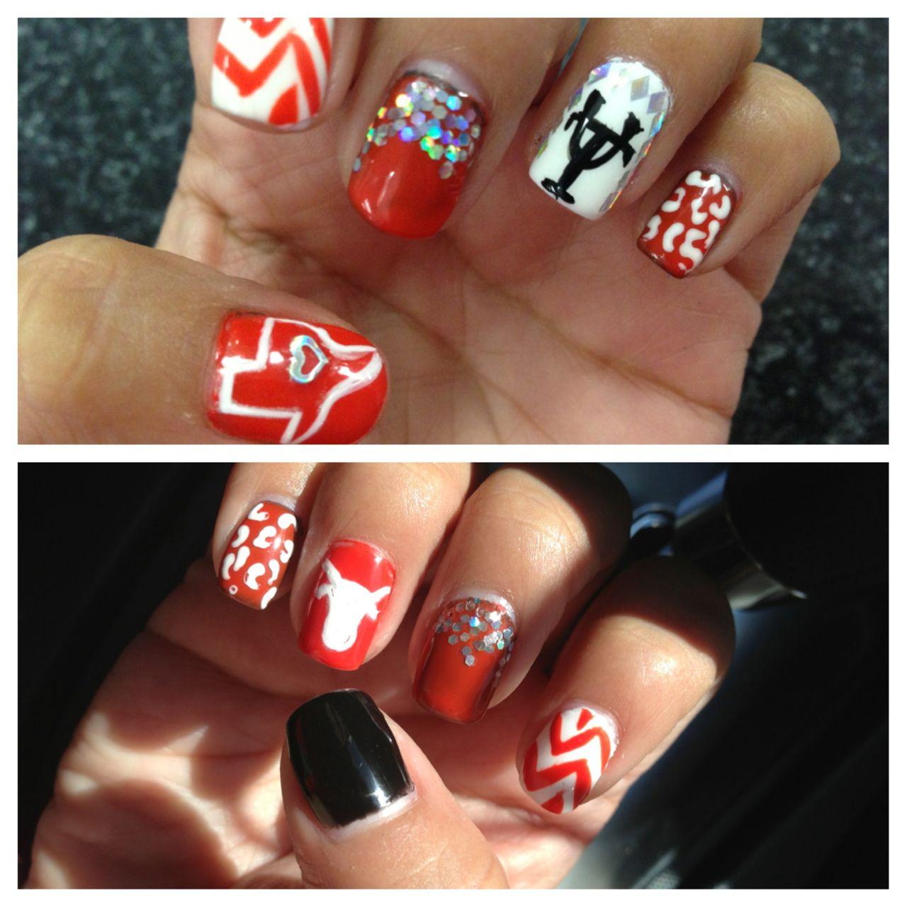 texas longhorn nails for November in Austin | My Style | Pinterest ...