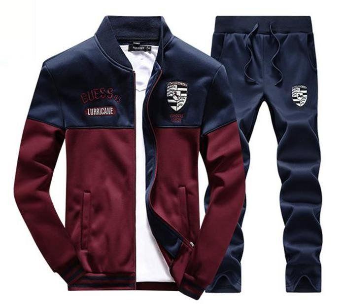 c7e9bef8e03 Tracksuit Tenis Baseball Golf Polo Suit M - 4xl Autumn Winter Men  Sweatshirt Pants Set Outdoor Sport Joggers Jogging Palace
