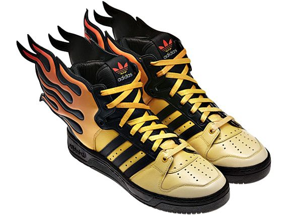 Shoes on fire! « Fokis | Dam sneakers, Adidas, Boots