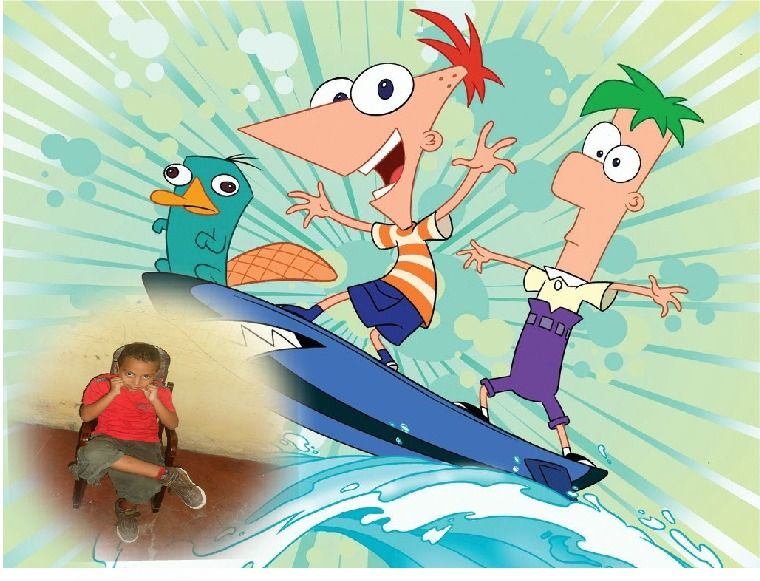 Awesome Pic Created by PhotoMontager.com   Phineas and