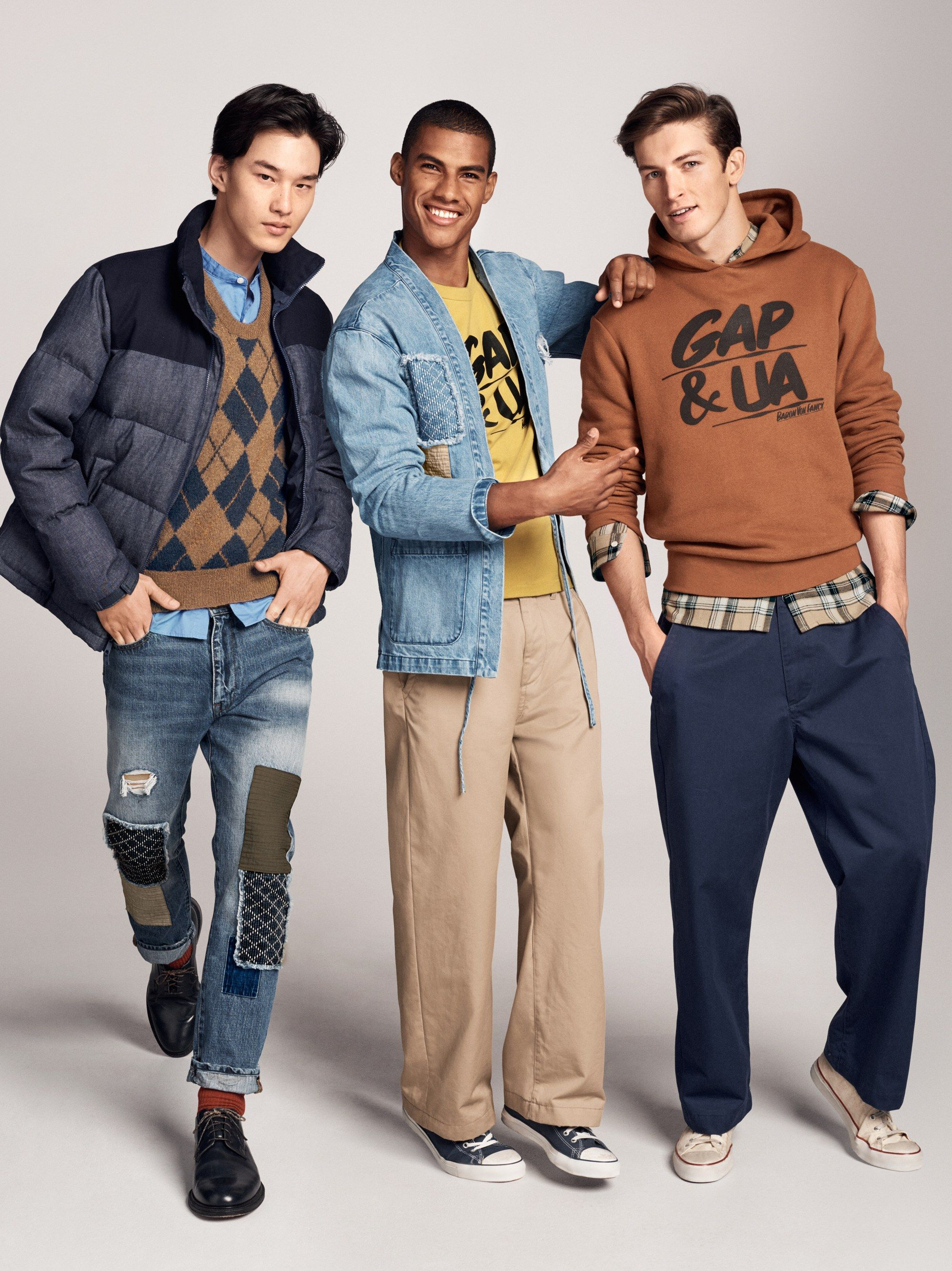... x Gap Coolest Menswear Designers on the Planet Collection Right Here. United  Arrows 98a2f2b65212
