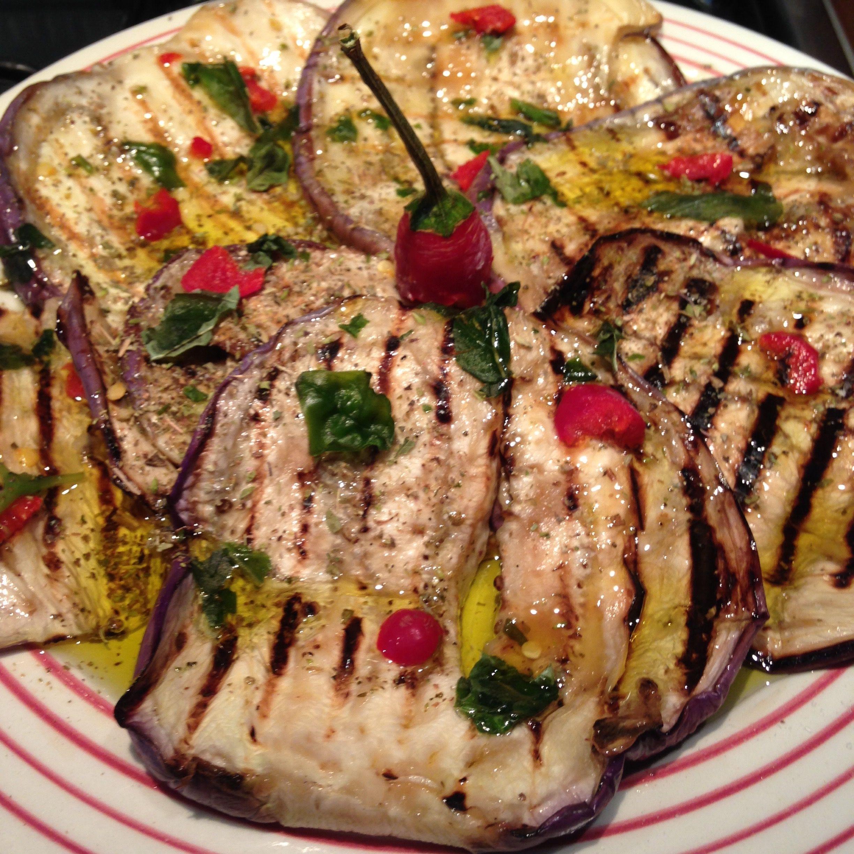 Melanzana violetta detta anche tunisina, grigliata e condita con spezie mediterranee!  http://mykitchen56.foodici.com/melanzana-violetta-grigliata/