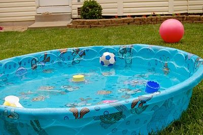 The Little Plastic Pool Plastic Baby Pool Plastic Pool Kid Pool