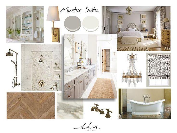 Mood Boards For Interior Design Bathrooms Master Bath Suite Concept Moodboard Mood Board