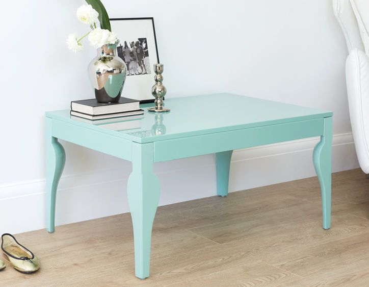 Eva aqua gloss coffee table danetti archive living - Cheap living room furniture sets uk ...