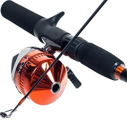 Amazon Com South Bend Worm Gear Spinning Fishing Combo Green Blue Or Orange Spinning Rod And Reel Combo Fishing Rod Holder Fishing Tips Fly Fishing Tips