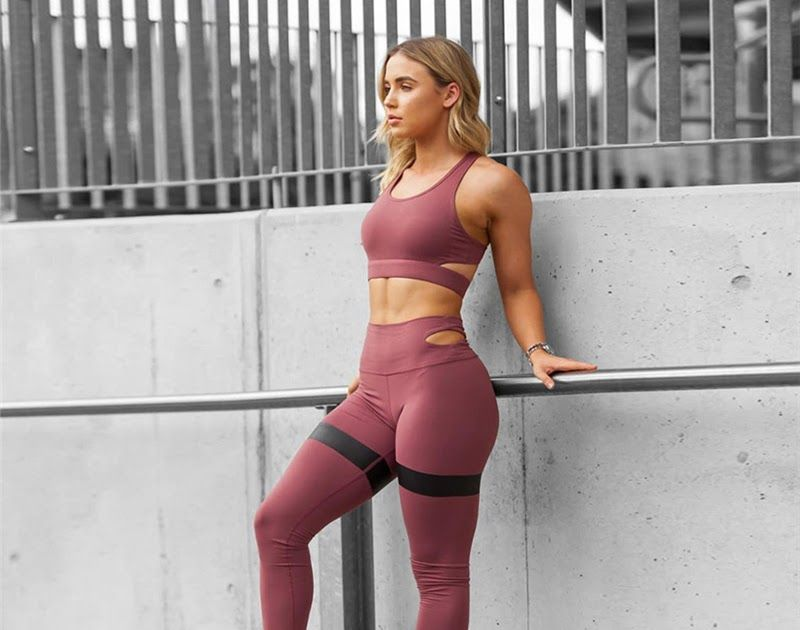 Best Price Women Yoga Set Women Sport Suit Gym Set Gym Clothing Sportswear  fitness Wear Fitness Suit Yoga Clothes Tracksuit a5ebe188c