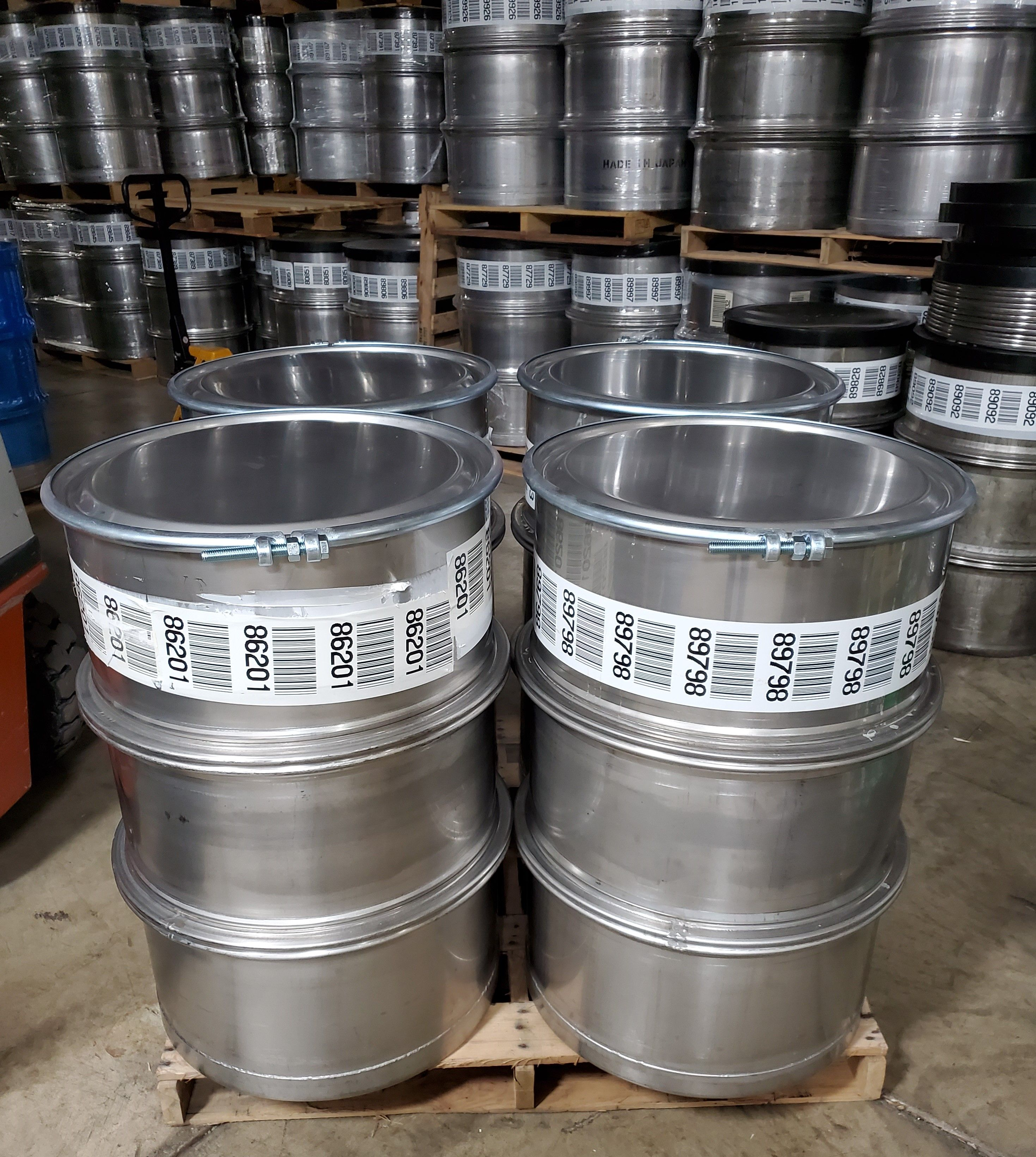 55 Gallon Used Stainless Steel Barrel In 2020 Steel Barrel Stainless Steel Drum Stainless Steel Accessories